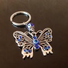 Бабочка с глазом Фатимы/брелок от сглаза