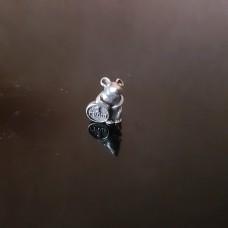Мышка с деньгой/Серебрение/в кошелек