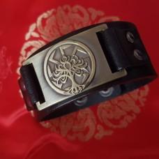 Кожаный браслет Дерево жизни в коловрате