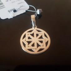 Молвинец в круге/серебро 925пр