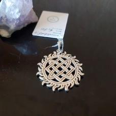 Звезда Лады в солнечных лучах /серебро 925