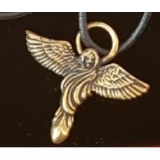 Ангел - сила Духа/амулет силы/бронза