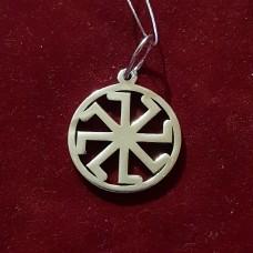 Колядник в круге/серебро 924