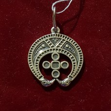 Лунница/серебро 925пр