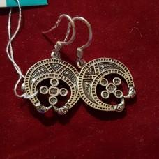 Серьги лунница /серебро 925пр