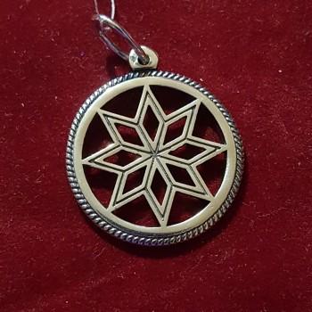 Алатырь серебряный/серебро 925 пр