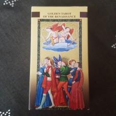 Золотое Флорентийское Таро/золотая серия/Ло Скарабео