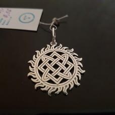 Звезда лады в солнечном круге/серебро 925