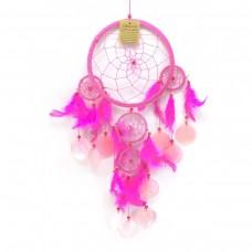 Ловец снов с ракушками/ розовый