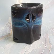 Аромалампа керамическая синяя