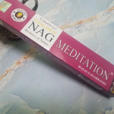 Аромапалочки Golden Nag Meditation Медитация/ Vijayshree