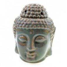 Аромалампа керамическая Будда зеленая