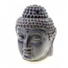 Аромалампа керамическая Будда белая