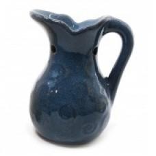 Аромалампа керамическая Кувшин синий