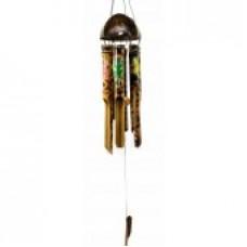 Музыка ветра бамбуковая + кокос Геконы