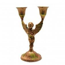 Подсвечник Ангел бронзовый