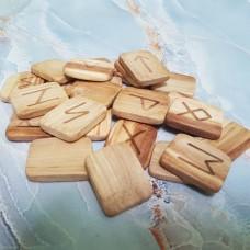 Руны деревянные Вишня