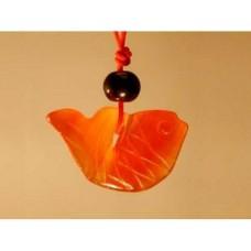 Золотая рыбка из сердолика