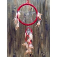 Ловец снов пентаграмма красный