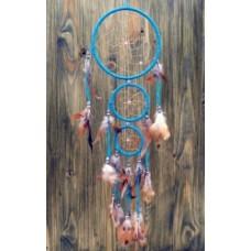 Ловец снов три кольца голубой