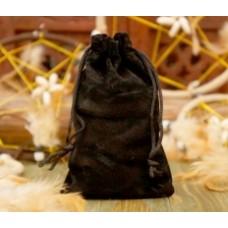 Мешочек велюровый Чёрный (большой)