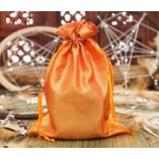 Мешочек из сатина Оранжевый