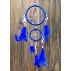 Ловец снов синий два кольца