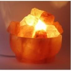 """Соляная лампа """"Огненная чаша""""/гималайская соль"""
