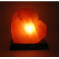 """Соляная лампа """"Сердце""""/гималайская соль"""