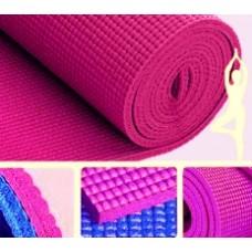 КОврик для йоги 173х61х0,4/Темно-розовый