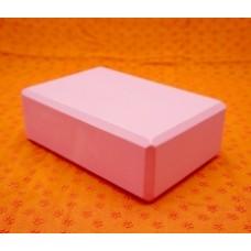 Кирпич для йоги /розовый 23*15*7,5см
